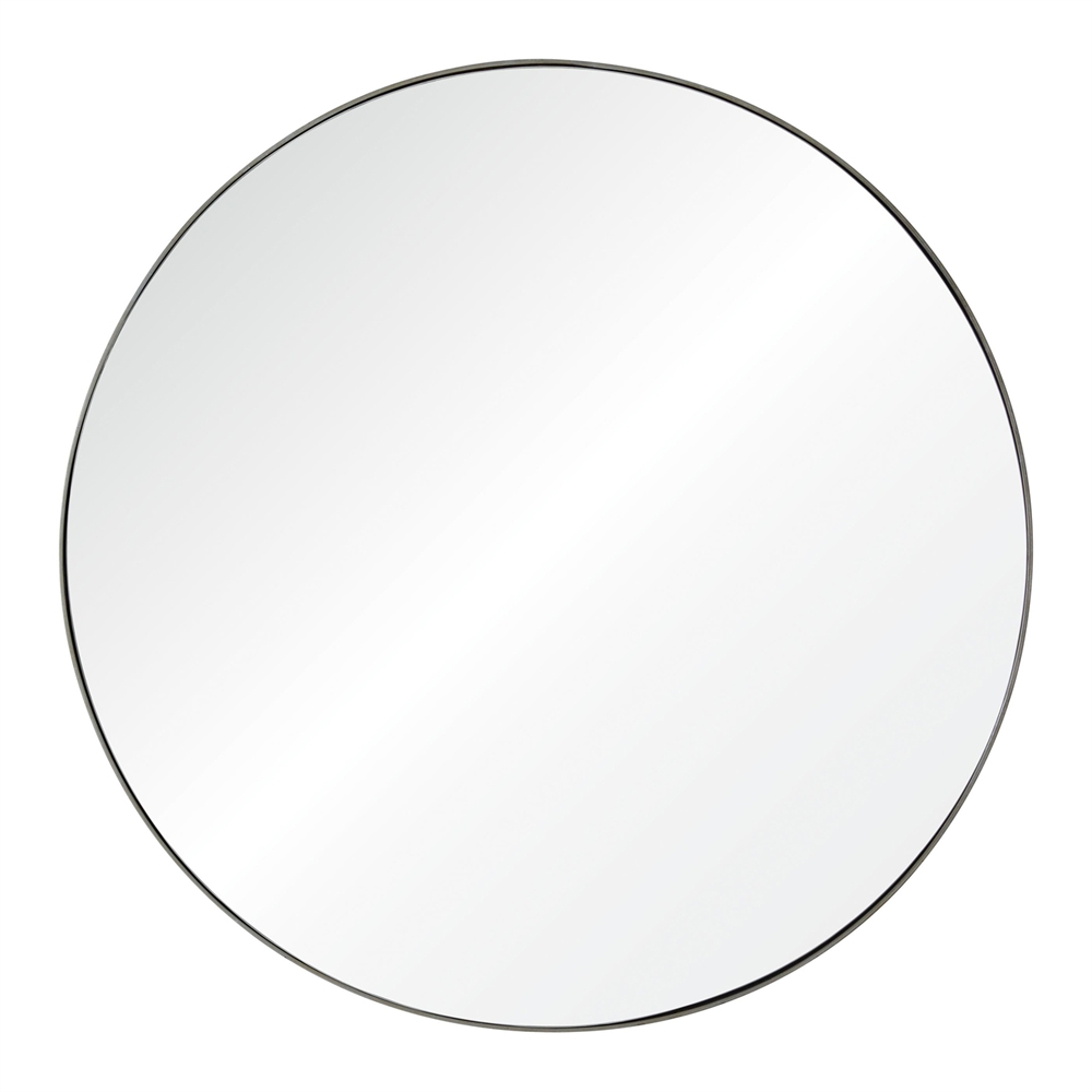 Glen Mirror - Raw Iron finish, the impressive size of this mirror will make any room to glow. 48