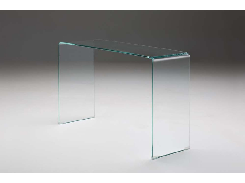Cabo Glass Table - Tempered Bend Glass Table.Two sizes: laptop 36