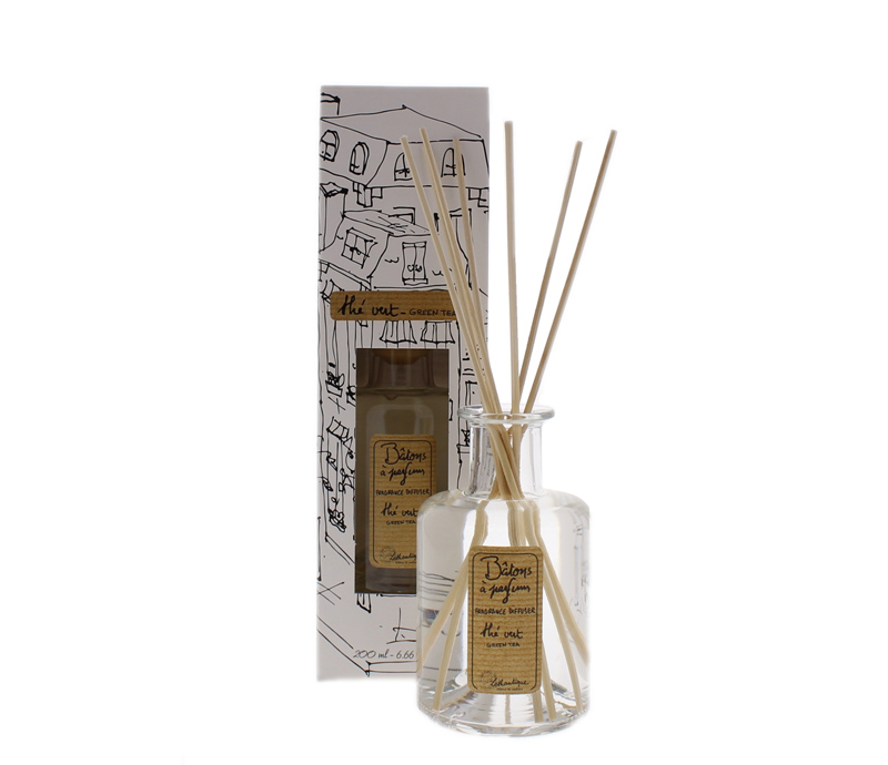 Lothantique Diffusers - Bring the aromas of France into your home, with Lothantique's line of Scented Diffusers! Brilliantly fragranced, the Authentique Collection's Scented Diffusers are an easy way to scent the home. Just place the reeds into the bottle and the fragrance travels up and diffuses into the air! Each bottle lasts approximately 3-4 months.Available scents: Green Tea, Grapefruit, Marine, Verbena, Milk, Lavender