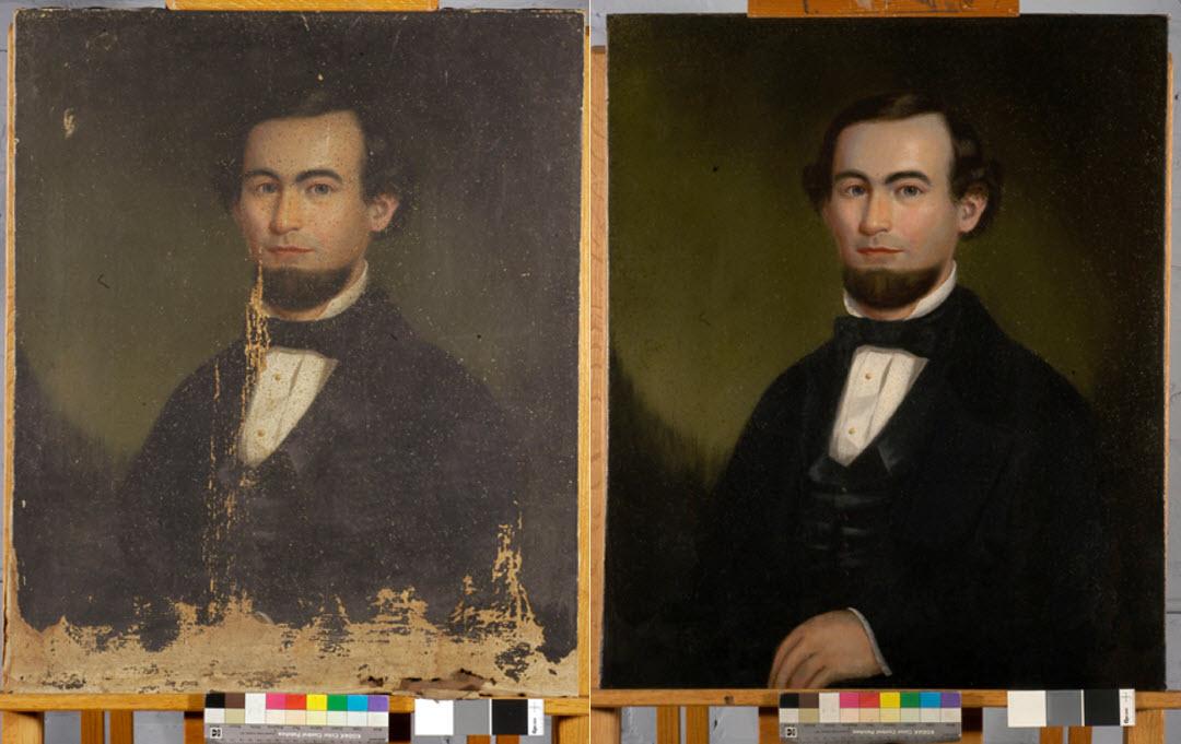 Portrait of Henry Jarrett