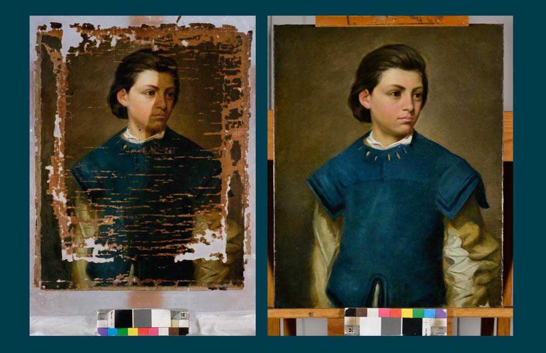 Portrait of a Page Boy