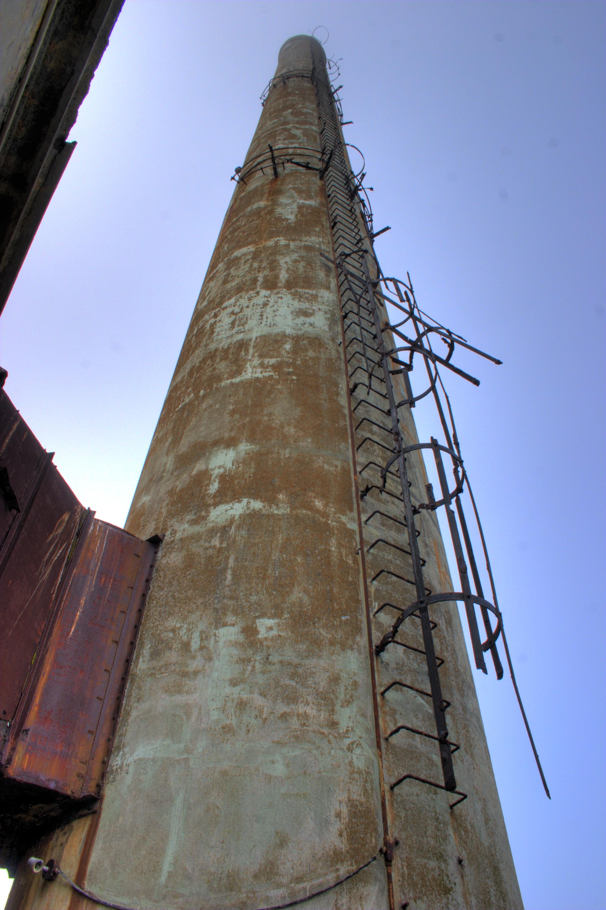 The Alcatraz Smokestack by Jonathan Haeber