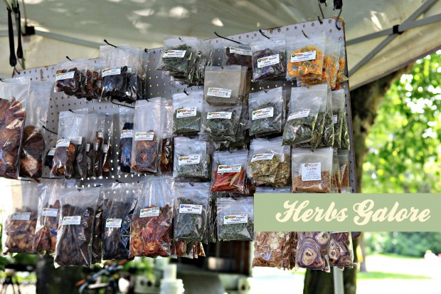 vancouver farmers market herbs