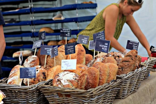 vancouver farmers market bread