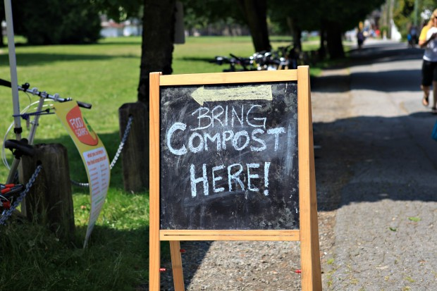 vancouver farmers market compost