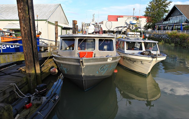 5 Fishing in Steveston Vancouver Island