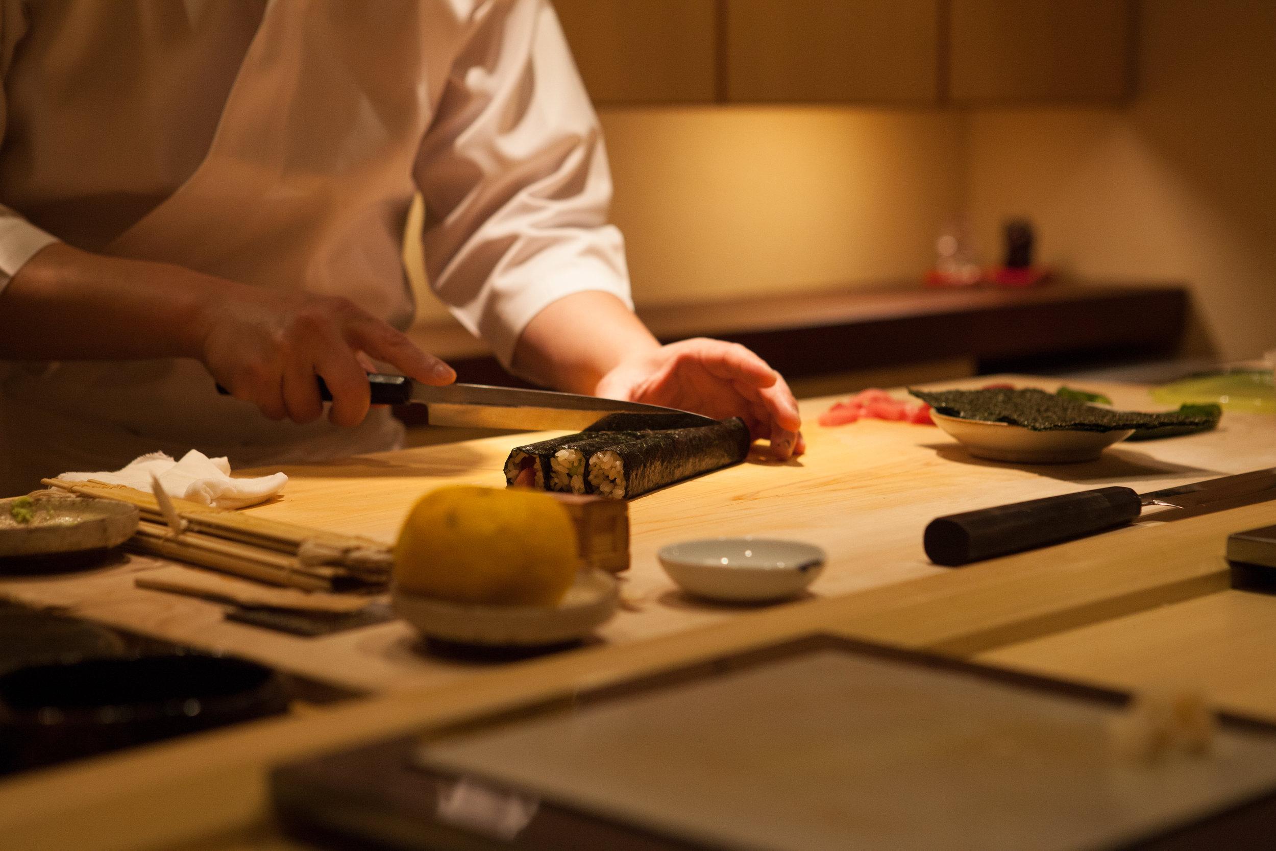 Gotta finish up with some delicious fatty tuna rolls!