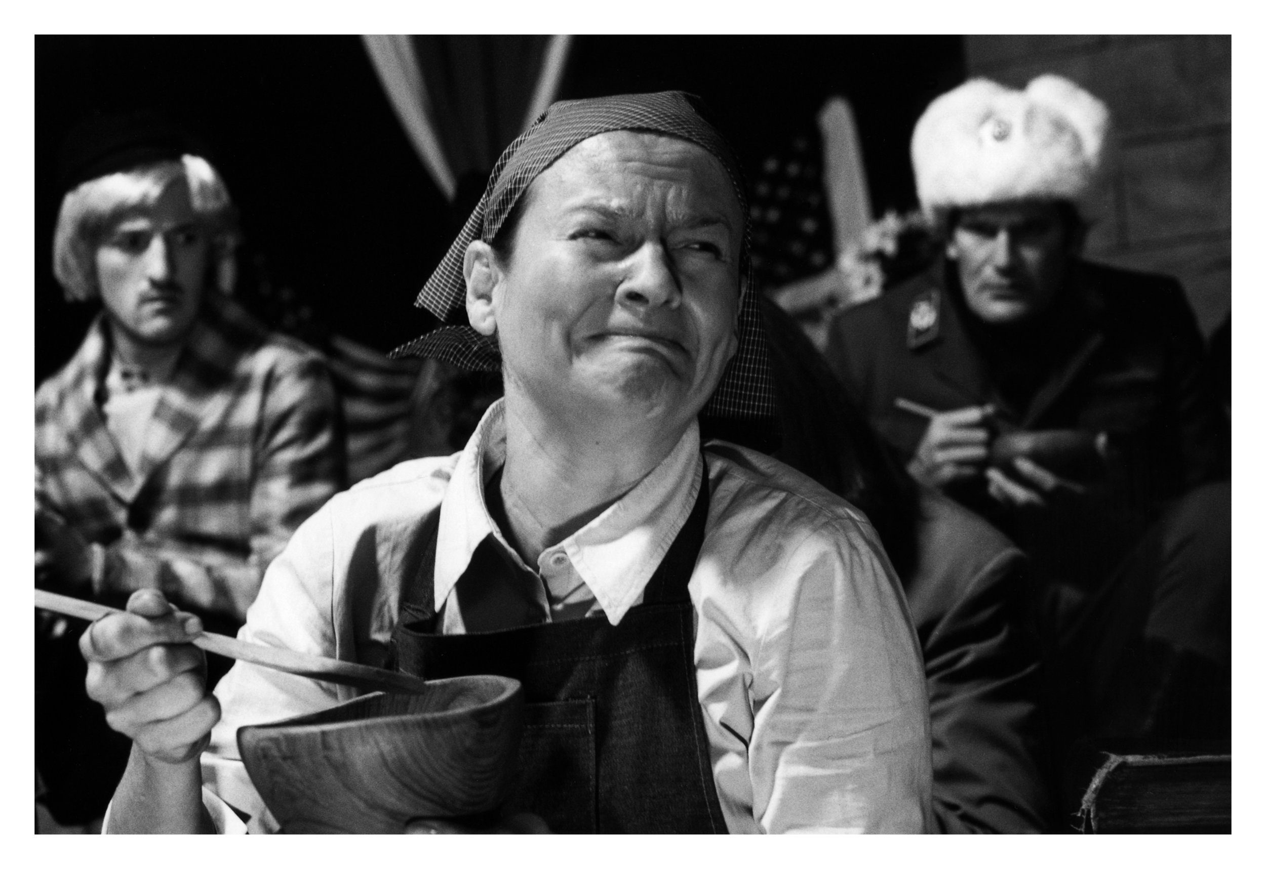 """Catherine Sullivan, Poor Little Sanya Economic Parable (suite E) , from """"Ice Floes of Franz Joseph Land"""" series, 2004,edition of 7 black & white photographs from film, 20,3 x 25,4 cm"""