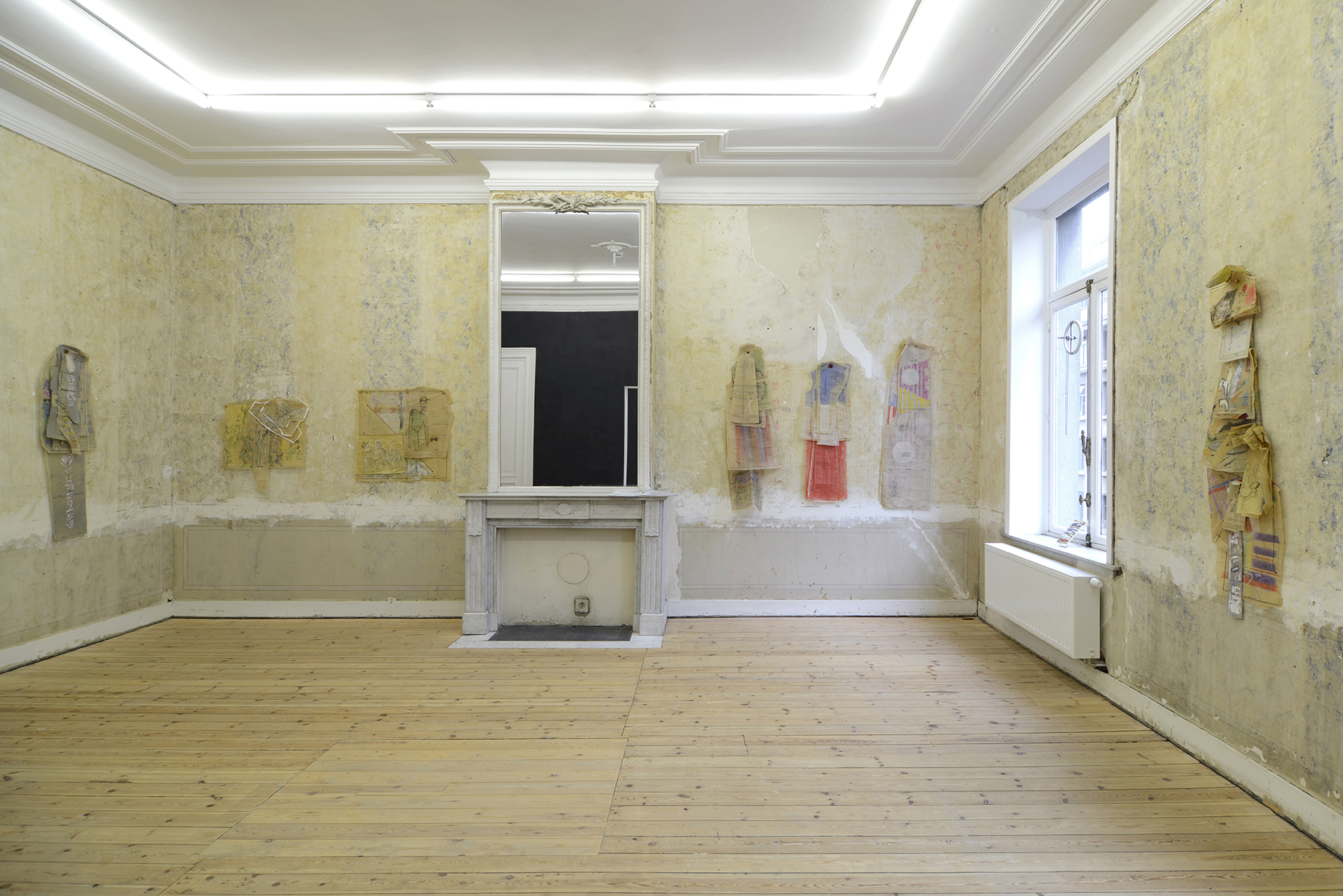 Catherine Sullivan  Afterword Via Fantasia,  Catherine Bastide gallery, Brussels, 2015, exhibition view
