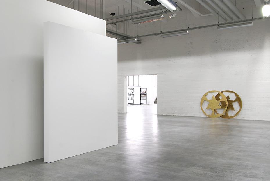 Kelley Walker, Wiels, Brussels, 2008, exhibition view