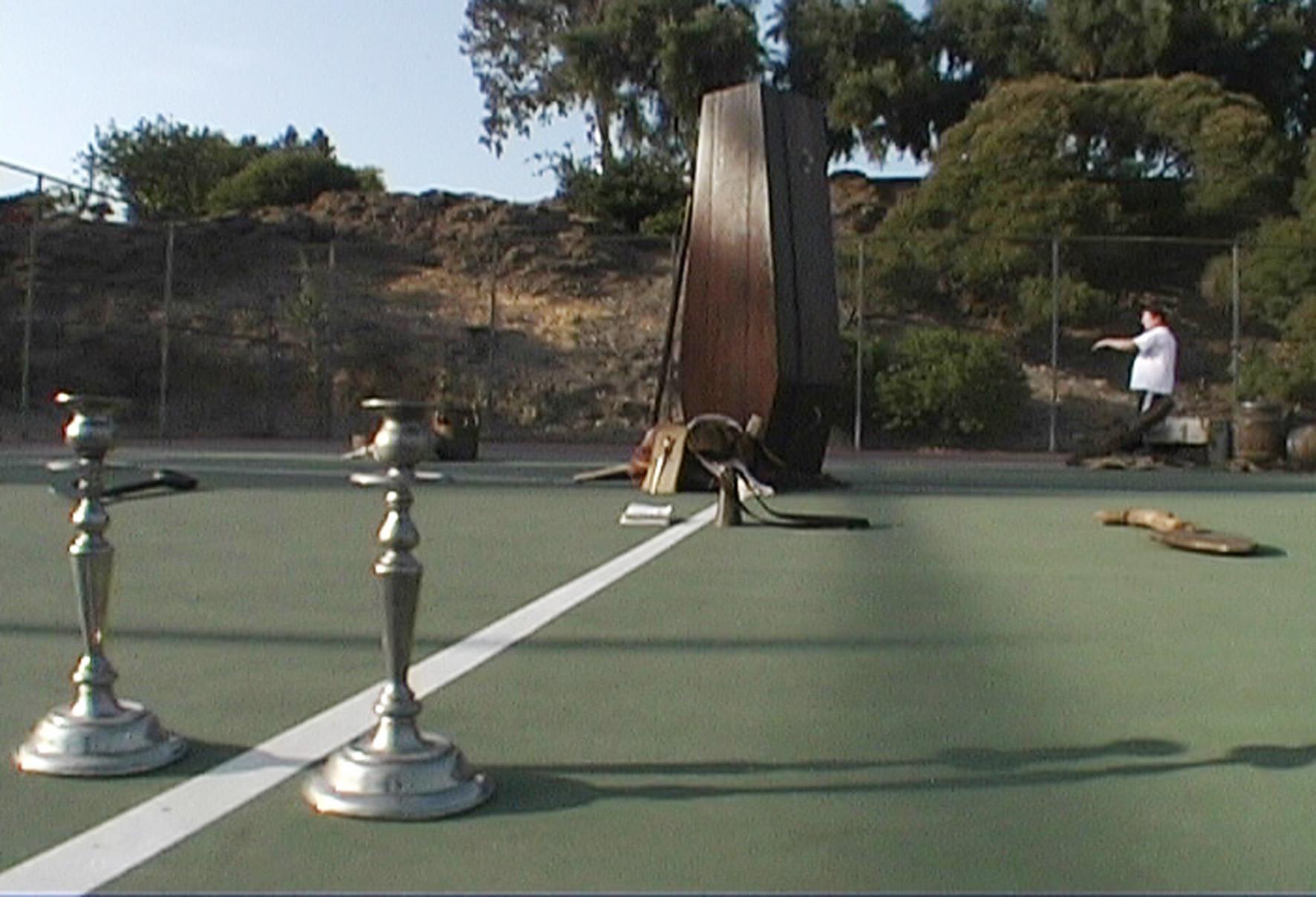 Catherine Sullivan, The Little Hunt,  2002,video still from a single-chanel vidéo, color, no sound, 15 min 30 sec