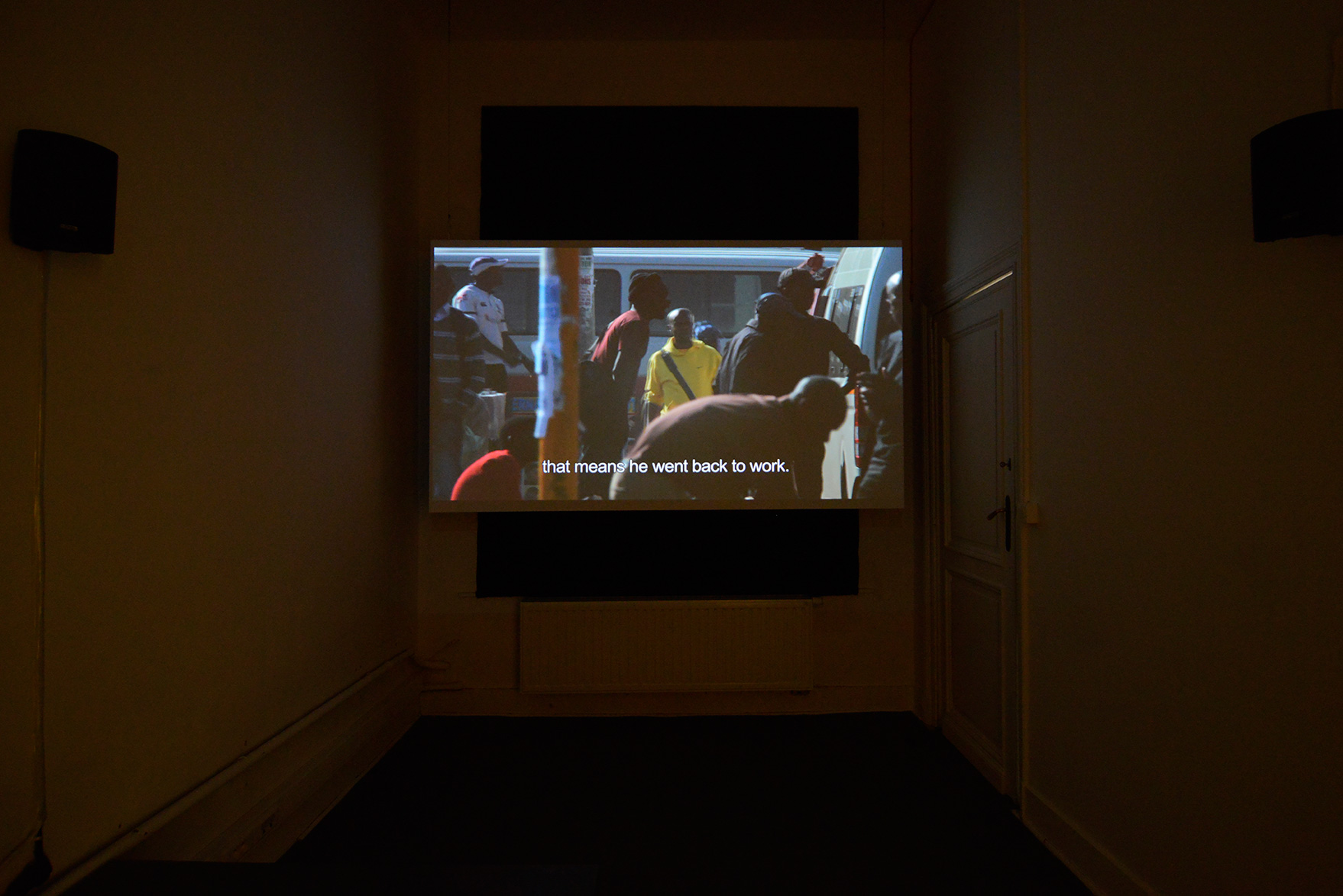 Andy Okoroafor, Graceland , 2014,video 18 min 11 sec