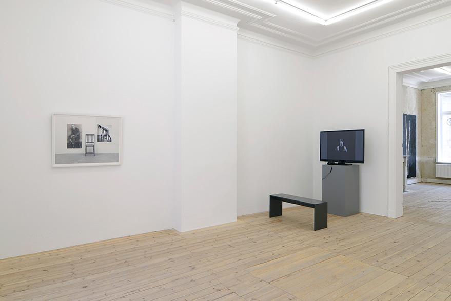 Joe Mama-Nitzberg, Catherine Bastide gallery, group show, 2015, exhibition view