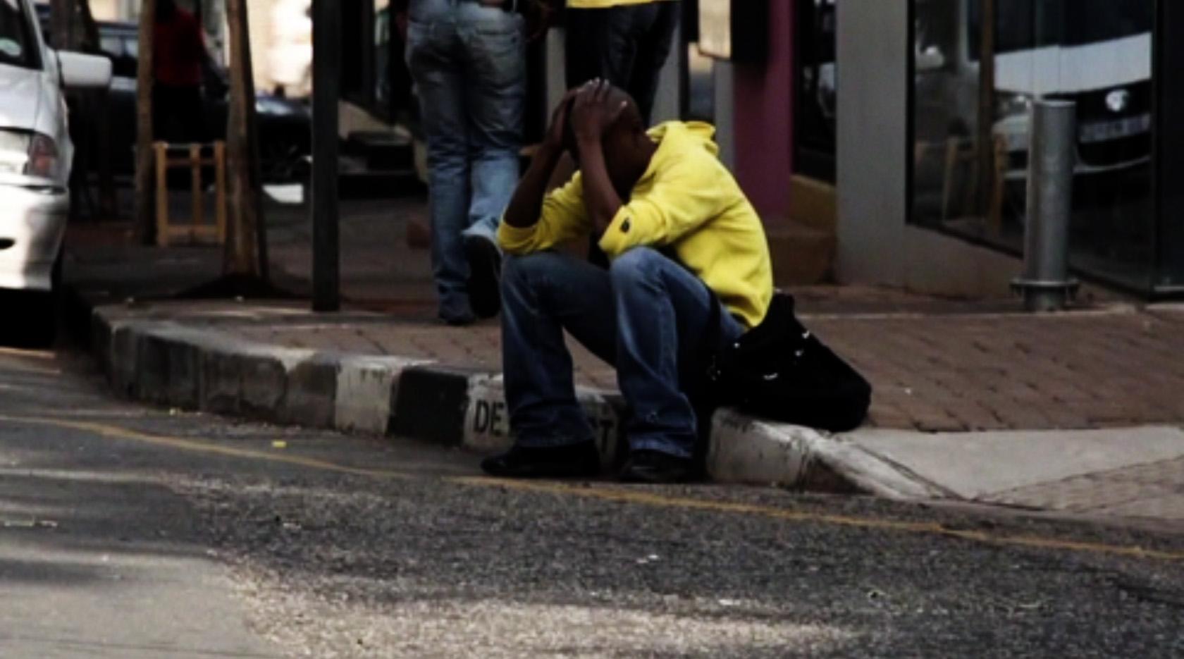 Andy Okoroafor, Graceland , 2014,video 18 min 11 sec (video still)
