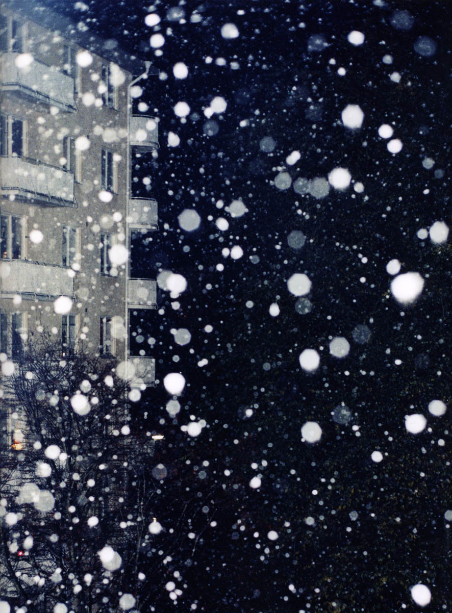 Ola Rindal,  Snow At Night,  1999, 50 x 40 cm, C-Print, 1/5