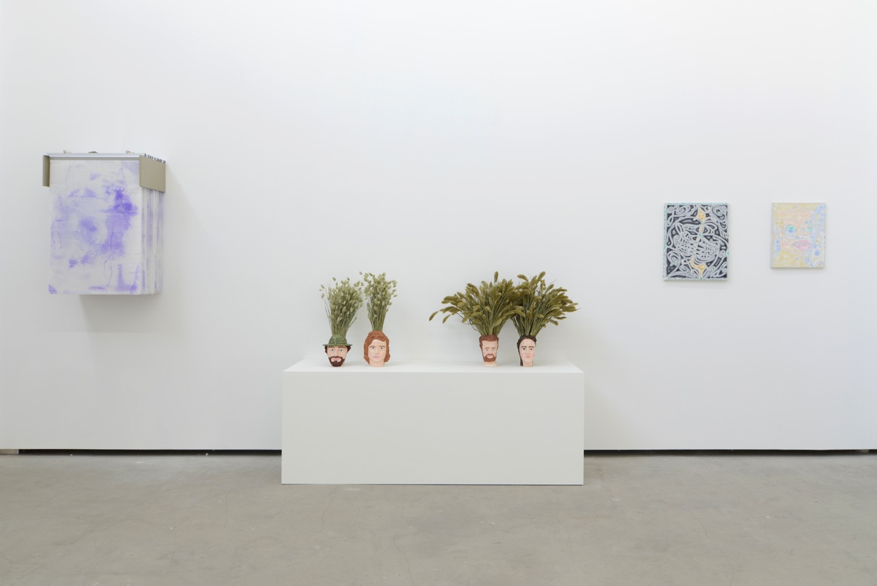 … / FOREVER YOUNG, Valerie Snobeck & Catherine Sullivan, Anna Mayer, David Caille, group show at Catherine Bastide gallery, Brussels, 2014, exhibition view