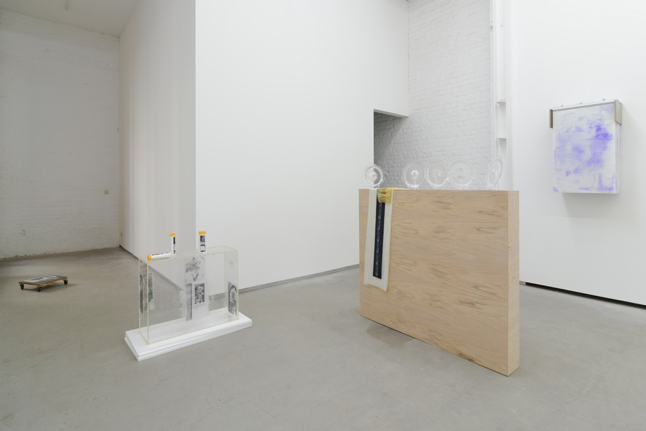 … / FOREVER YOUNG, Uri Aran Bitsy Knox, Valerie Snobeck & Catherine Sullivan, group show at Catherine Bastide gallery, Brussels, 2014, exhibition view