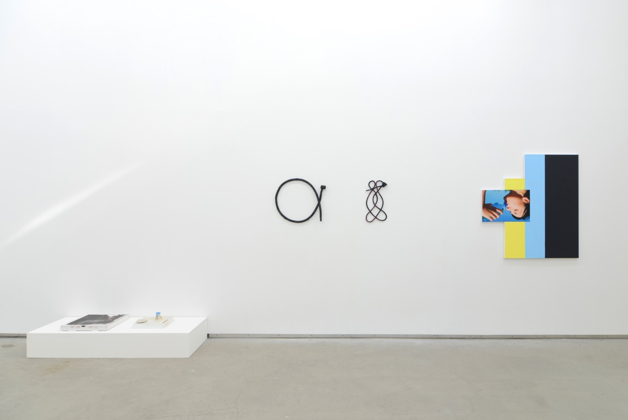 … / FOREVER YOUNG, Uri Aran, Anna Mayer, Julia Wachtel, group show at Catherine Bastide gallery, Brussels, 2014, exhibition view