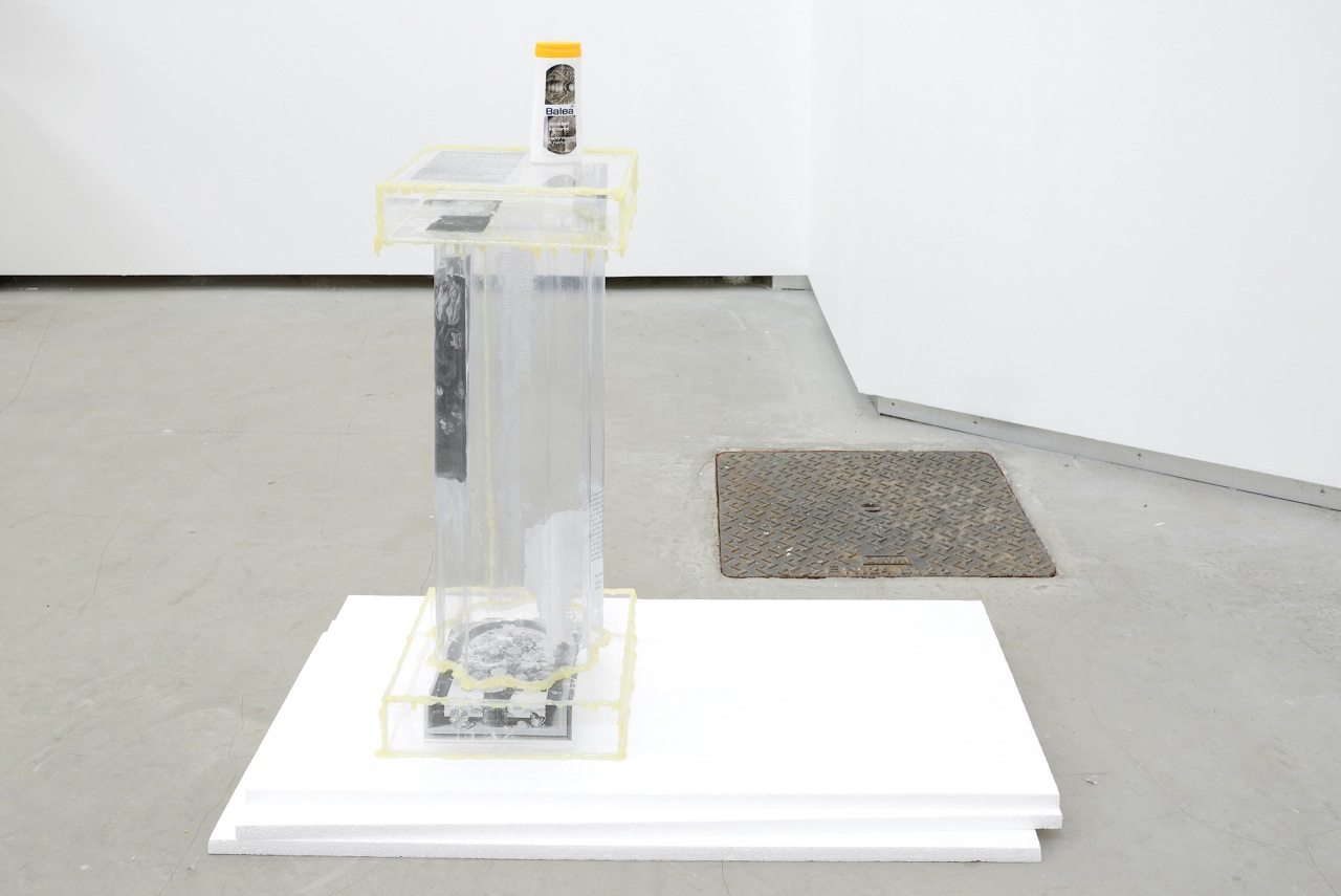 Bitsy Knox,  Constantly Activated Gyre of the Undead , 2014, plexiglass, glue, cust David Caille, L.O.V.E., 2014