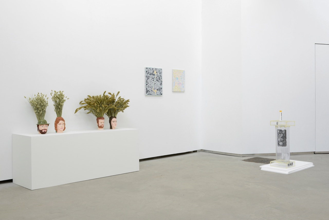 … / FOREVER YOUNG, group show at Catherine Bastide gallery, Brussels, 2014, exhibition view