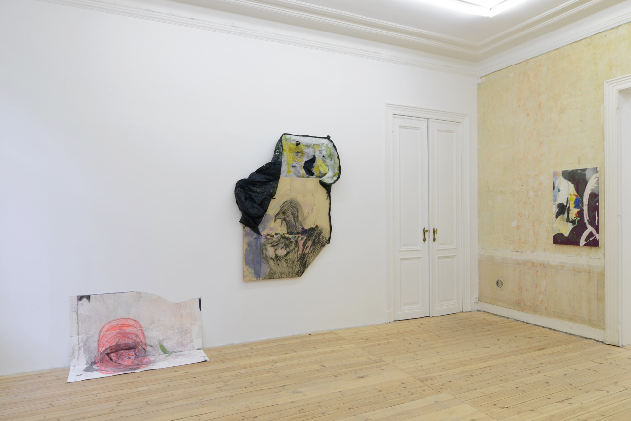 Henrik Olai Kaarstein,  Pride,  two-person show at Catherine Bastide gallery, Brussels, 2014, exhibition view