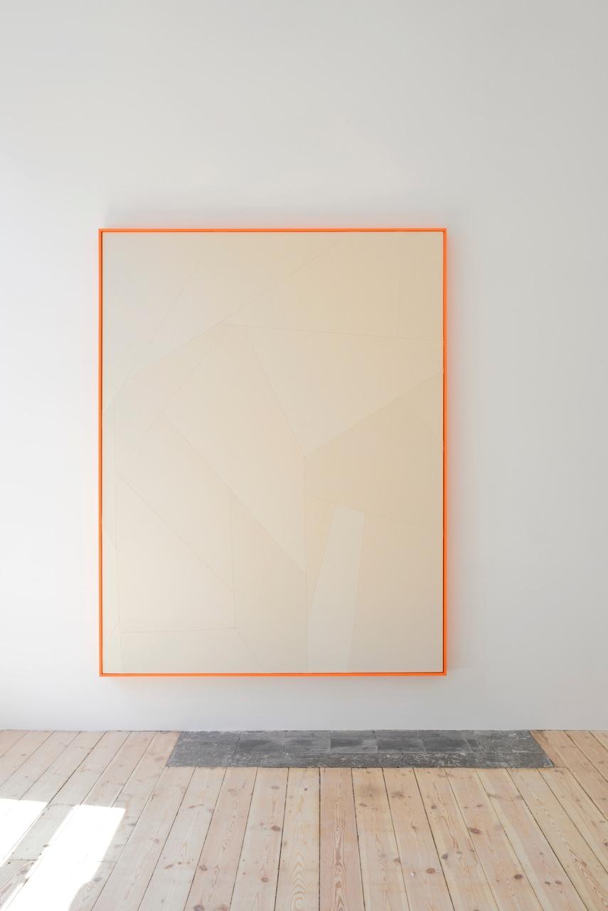 Sarah Crowner,  Motifs , Catherine Bastide gallery, Brussels, 2014