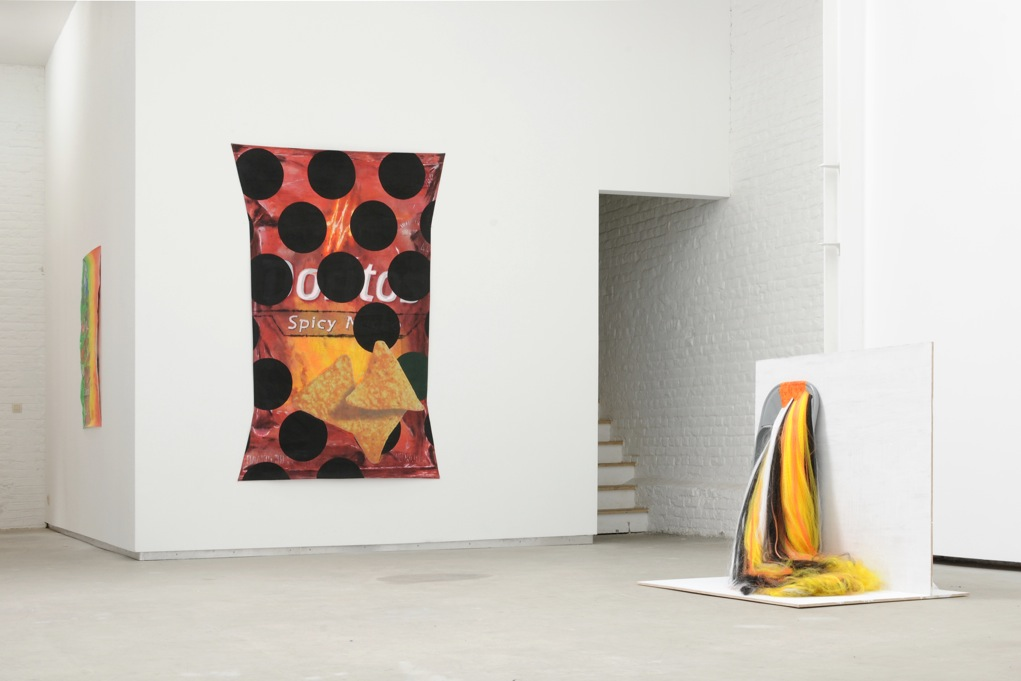 Part of This Complete Breakfast: objects for a wake,  Catherine Bastide gallery, Brussels, 2012, exhibition view