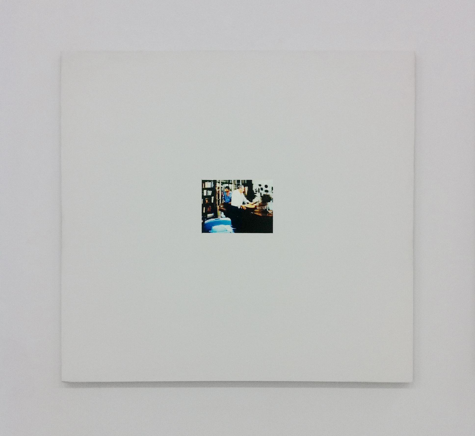 Untitled , 2003, oil and gesso on plexiglas, 83,8 x 78,7 cm