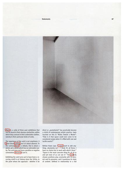 A hidden poem by Jack Kerouac,  2010, 35 x 25 cm, Pen on Piezo Print, edition: 5 + 1 AP