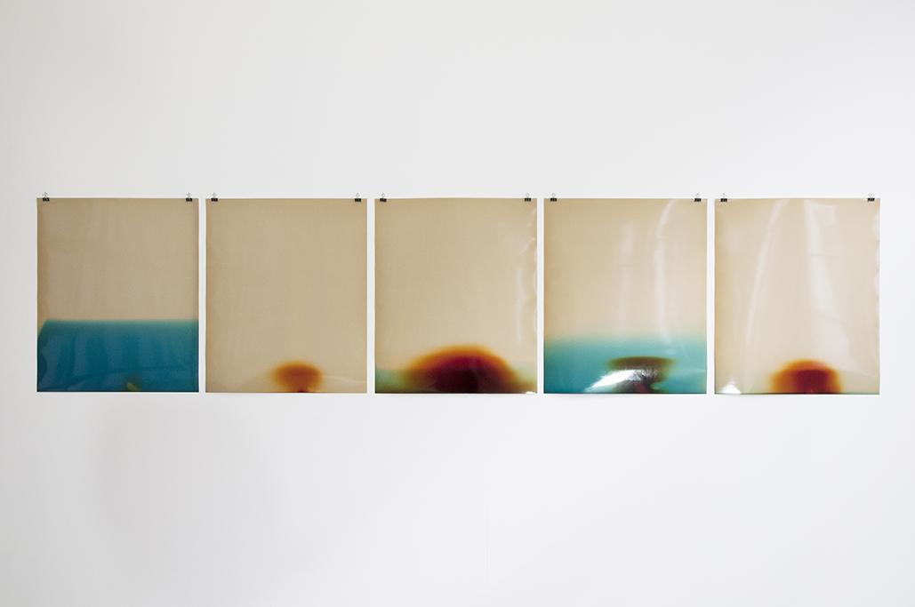 Sébastien Reuzé,  KODAK #1 (2015-2017)  ,  Kodak glossy obsolete RC paper, 50x60,5 cm, 1/1
