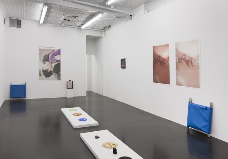 Valerie Snobeck,  Grand Beauty Salon , Essex Street gallery, New York, 2012, exhibition view