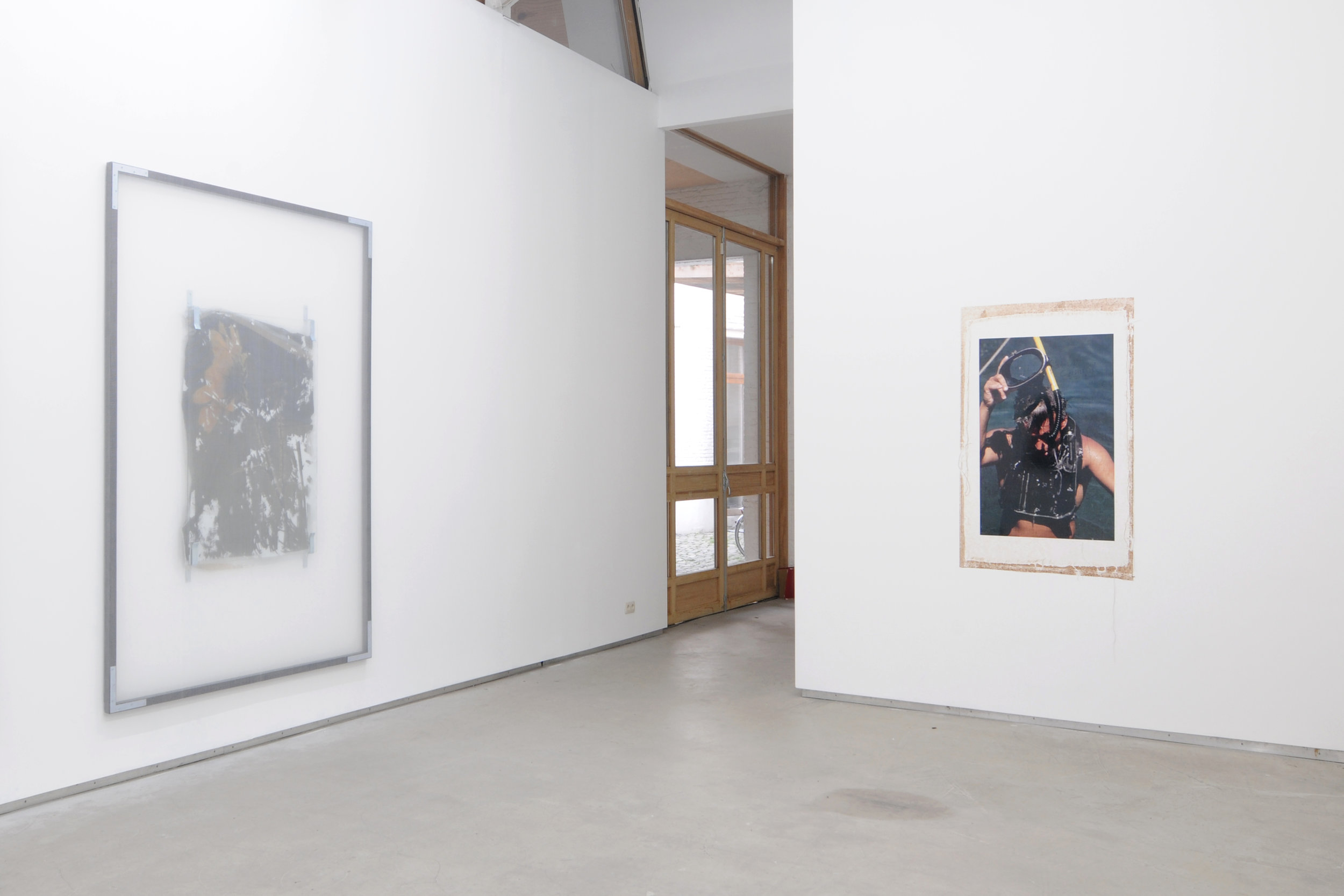 Valerie Snobeck,  Use Period , Catherine Bastide gallery, Brussels, 2013, exhibition view
