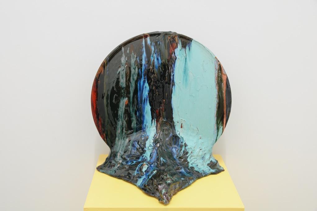 Alexandros Tzannis,  New world,  2011, ceramic, 43 x 39 x 40 cm