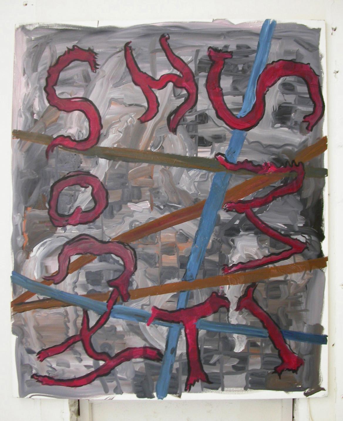 Josh Smith,   Ravenstein galleries, Brussels, 2005