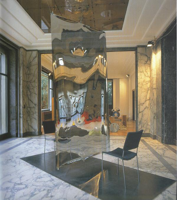 Franz West / Heimo Zobernig,  Auto-sex , 1999, installation view