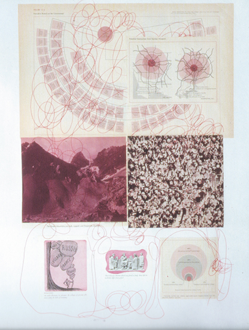 Mike Kelley,  Morgue , 1999, rose colored