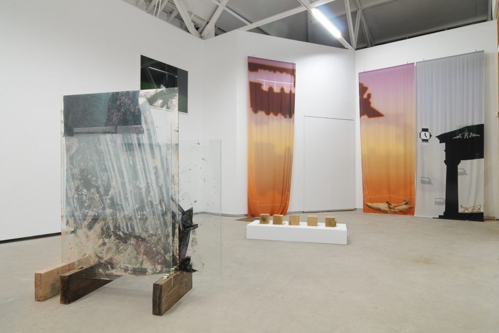 Mirages, Fountains & Dissociative Composition, Catherine Bastide gallery, 2011, exhibition view