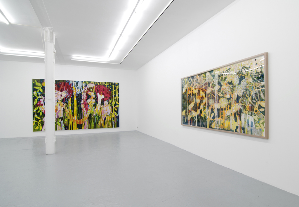 Janaina Tschäpe, Catherine Bastide gallery, exhibition view, 2010