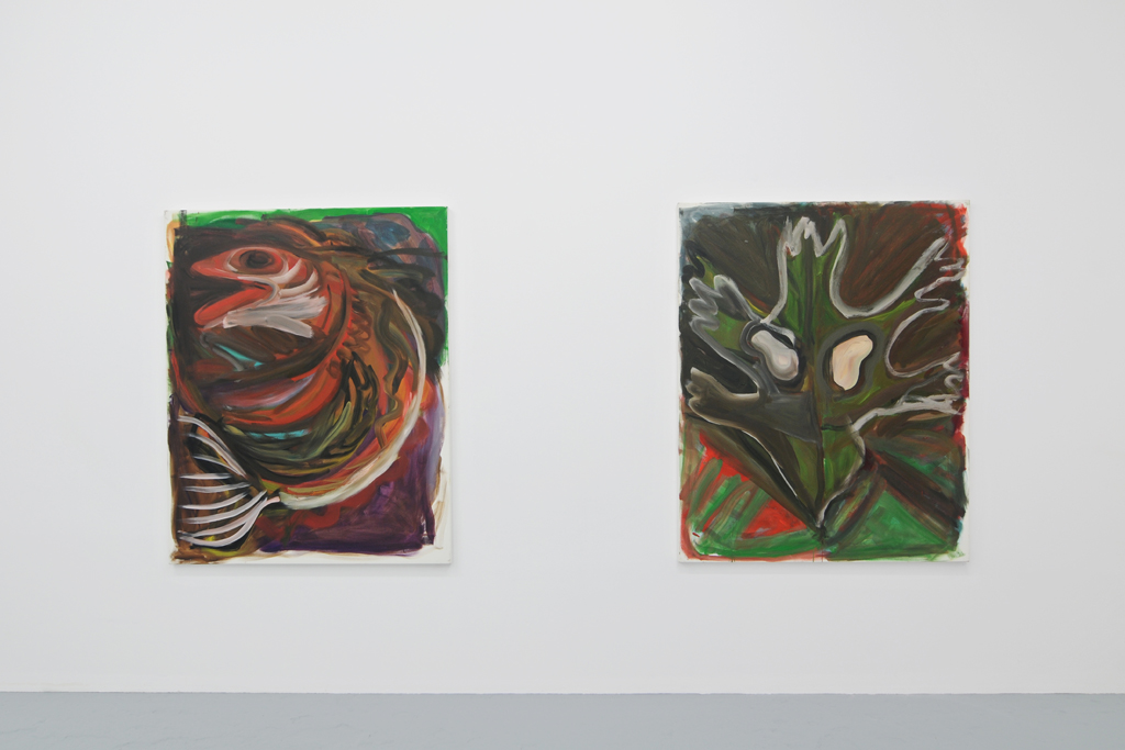 Group show, Catherine Bastide gallery, Brussels, exhibition view, 2010