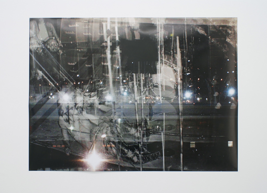 Meredyth Sparks,  Under Glas s, 2009, photograph - 43.5 x 59 inches / 110.5 x 150 cm - edition 1/5