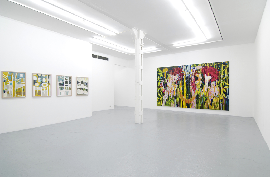 Janaina Tschape , New Work s, Catherine Bastide gallery, Brussels, 2009, exhibition view