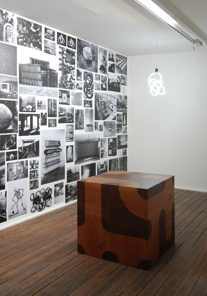 Erwan Maheo,  Dispersion , 2008, Catherine Bastide project room, Brussels, exhibition view