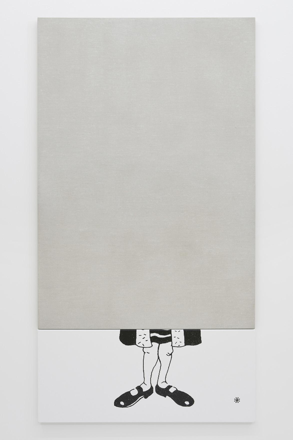 Oliver Osborne, Catherine Bastide gallery, Brussels, exhibition view 2015