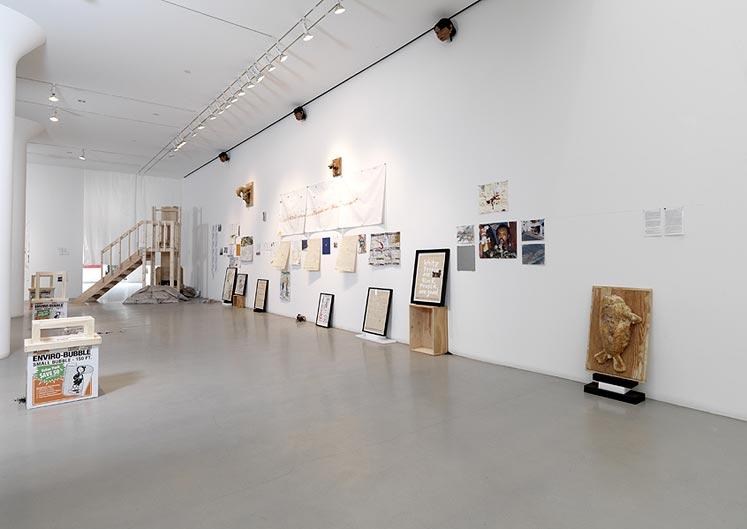 landscape + object + animal , Mitchell-Innes & Nash gallery, New York, 2010, installation view