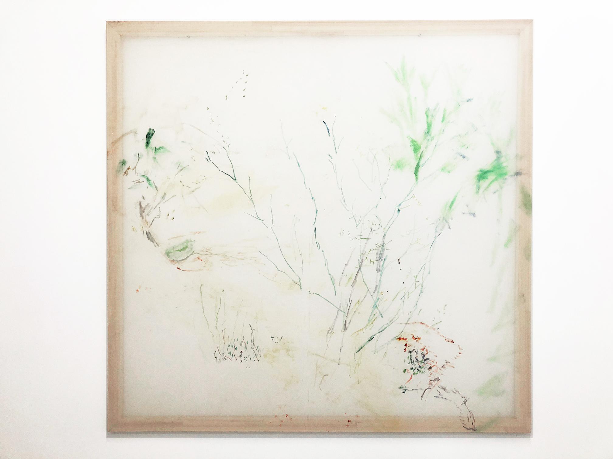 Jana Cordenier,  Untitled, 2018, oil on canvas, 170 x 175 cm