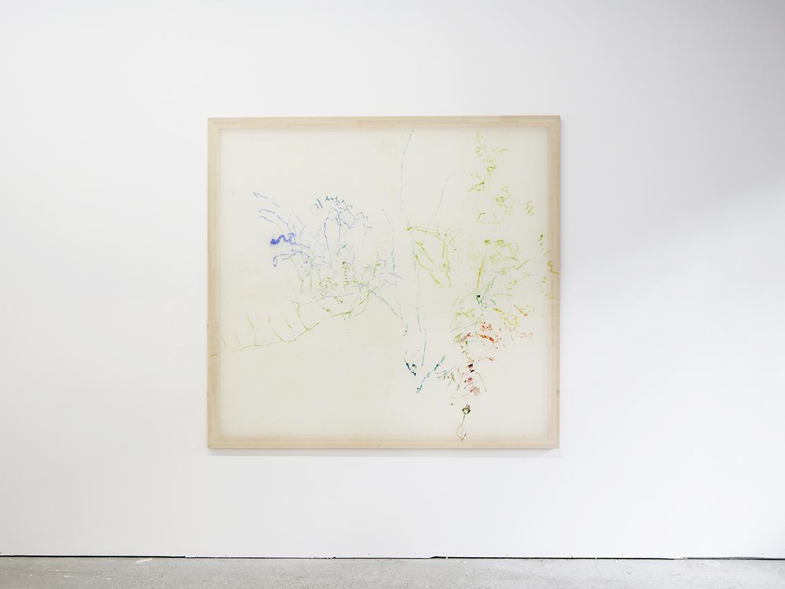 Jana Cordenier,  Untitled, 2018,  oil on canvas, 160 x 170 cm