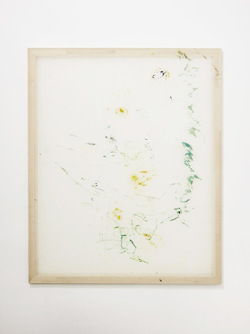 Jana Cordenier,  Untitled, 2018, oil on canvas, 158 x 130 cm