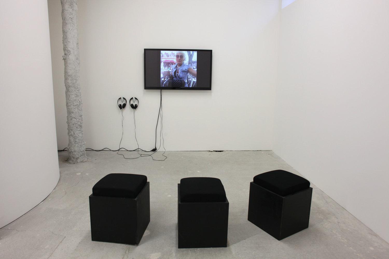 ALLEZ , Catherine Bastide gallery, Marseille, 2017, exhibition views