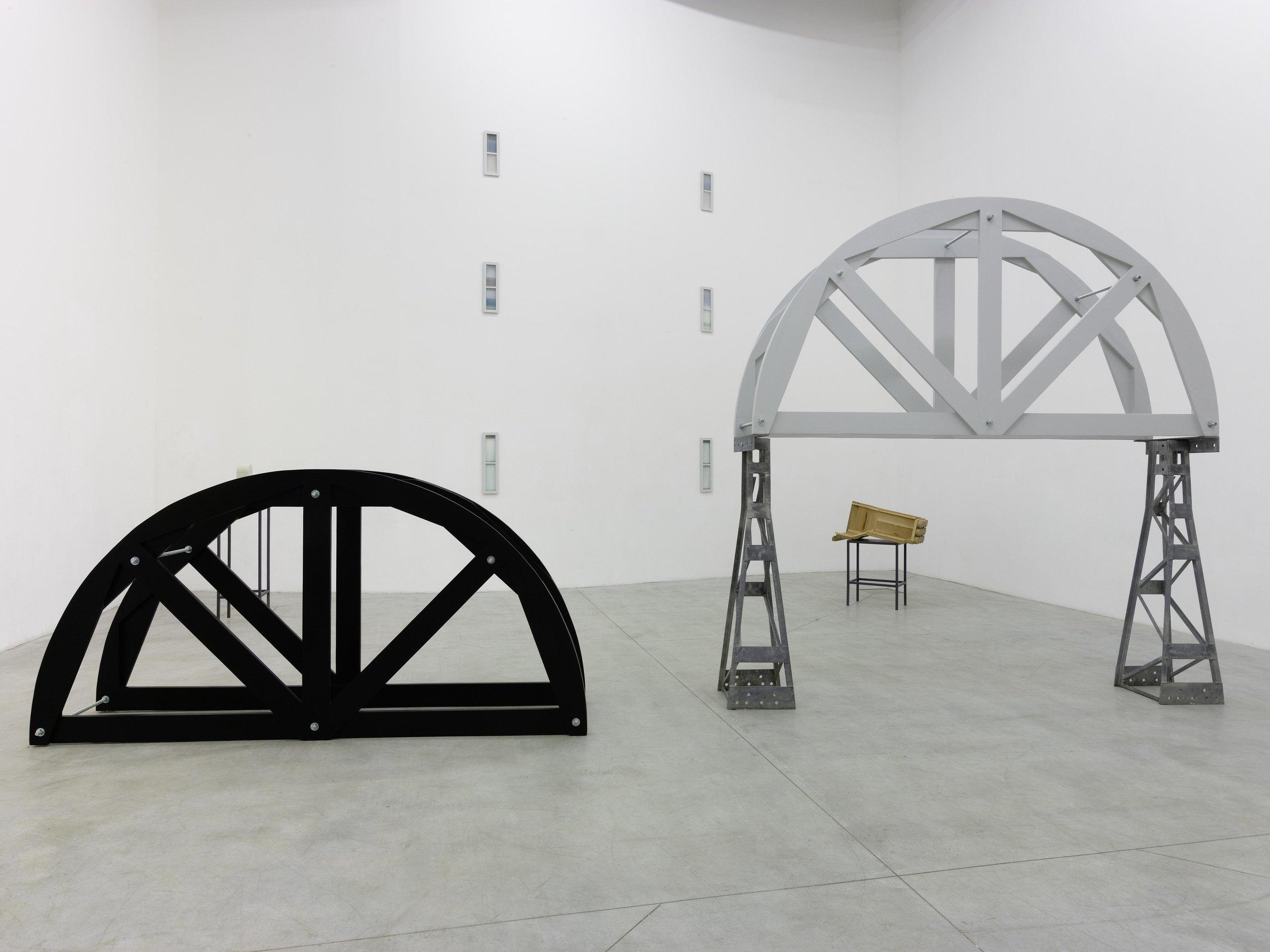 Valerie Snobeck, ' Build of a Nearby Valley while Looking Afar ', Le Consortium, Dijon, 2018, exhibition view  photo ©André Morin/Consortium Dijon