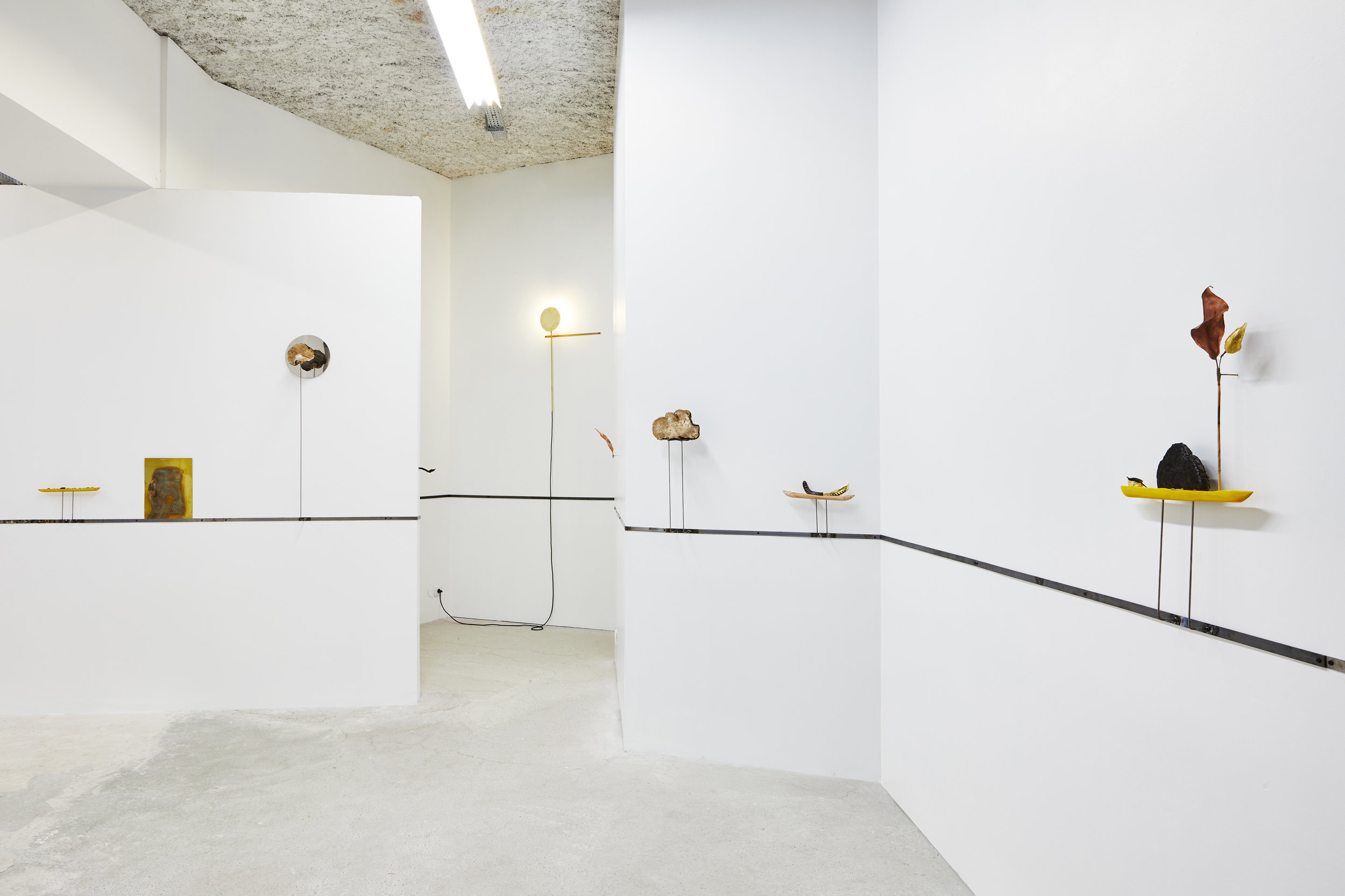 Martin Belou,  Garde Fou,  Bastide Projects, Marseille, 2019, exhibition view